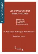 Les concours des Bibliothèques - Fonction Publique Territoriale