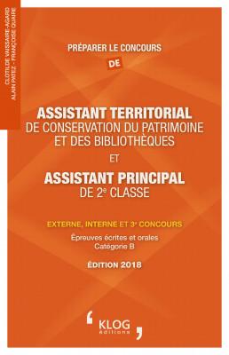 Préparer le concours d'assistant territorial de conservation du patrimoine et des bibliothèques et d'assistant principal de 2e classe