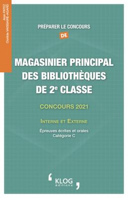 Préparer le concours de Magasinier principal des bibliothèques de 2e classe