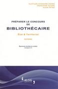 Préparer le concours de Bibliothécaire,État et territorial externe