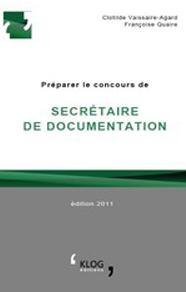 Préparer le concours de Secrétaire de documentation